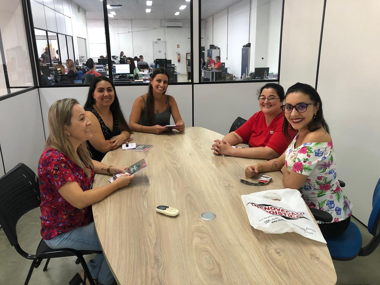 A energia inesgotável das mulheres da nossa equipe